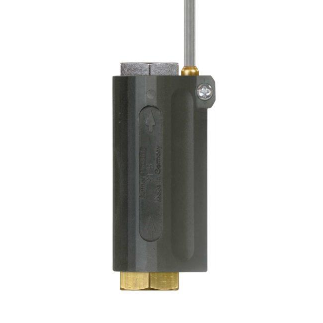 Strömungswächter zur Steuerung von Pumpen und Brennern.
